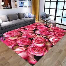 de htmp hs 3d flower wohnzimmer teppich