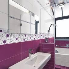 salle de bain mauve faïence violette 45 2x20 deco salle de bain