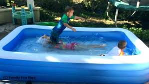 Round Plastic Kiddie Pool Hard Baby Outdoor Wading Now