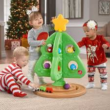 Christmas Tree Amazon Prime by Amazon Com Step2 My First Christmas Tree Toys U0026 Games