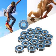 100 Roller Skate Trucks Board Wheels Bearings 20 Frictionless Abec 9