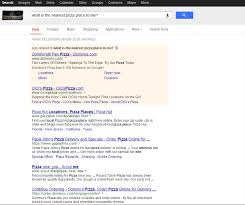 We Were Hoping For Better Results Google Showed No Local Listings In Their Page Only Websites Pizza Places Appeared The