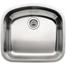 Home Depot Kitchen Sinks Stainless Steel Undermount by Blanco Wave Undermount Stainless Steel 22 In Single Basin Kitchen