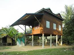100 Modern Wooden Houses INDOCHINA Khmer House In Cambodia REF ARCH Vernacular