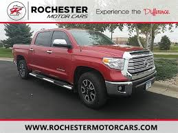 2016 Toyota Tundra 4WD Truck Limited CrewMax In Rochester, MN | Twin ...
