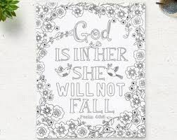 Printable Quote Coloring Page Instant Download By Coloringpage