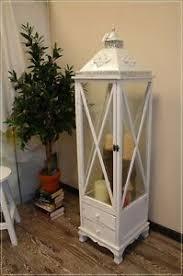 weiße deko laternen aus holz günstig kaufen ebay