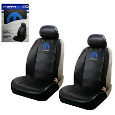 NEW BLUE MOPAR Logo Synthetic Leather Sideless Car Truck Front Seat ... Dodge Ram Pickup Seat Covers Unique 1500 Leather Truck Seat Covers Lvo Fh4 Black Eco Leather For Jeep Wrangler Truck Leatherlite Series Custom Fit Fia Inc Auto Upholstery Convertible Tops Mccoys New York Ny By Clazzio Man Tga Katzkin Vs 20pc Faux Gray Black Set Heavy Duty Rubber Diamond Front Cover Masque Luxury Supports Car Microfiber
