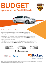 10607-BUDGET-HAWKS-SPONSORSHIP | Box Hill Hawks Budget Remtal Car September 2018 Sale Rental Truck Hertz Penske Car Vancouver And Rentals Used And Suv Dealership Sales How To Use A Moving Ramp Insider You Need Budget Coupon Promo Coupons Whosale Party Supplies Find Out Which Moving Expenses May Be Tax Deductible Save 20 On Locations Near Me Top Release 2019 20 Deals Corso Personal Shopper Wwwbudget Truck Rental August Discounts Canada
