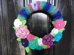 243 best Crochet Wreaths images on Pinterest