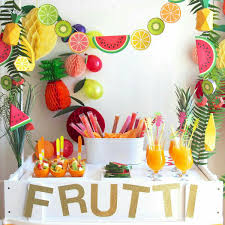 Tropical Birthday Party Ideas