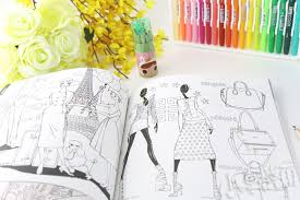 Online Shop Korea Famous Luxury Fashion Costume Graffiti Colouring Book Coloring 96 Pages 25x25cm Free Shipping