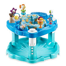 Evenflo High Chair Table Combo by Exersaucer By Evenflo Bounce U0026 Learn Beach Baby Buybuy Baby