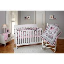 discontinued little bedding by nojo elephant time 3 piece crib