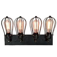 vintage industrial cage wall l retro iron wall sconces