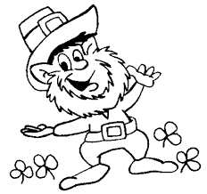 Coloring Page Leprechaun Pages 11 Kids Of Pictures To Color From