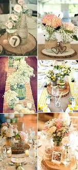30 Rustic Burlap And Lace Wedding Ideas Centerpiece With Table Decoration