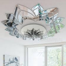 großhandel aufwändige blume dekorative 3d acryl spiegel wand aufkleber decken aufkleber wohnzimmer schlafzimmer dekor raum dekoration abziehbild r042
