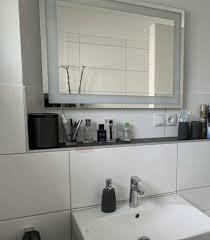 bauhaus camargue stella led licht spiegel badzimmerspiegel bad