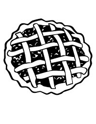 cherry pie Colouring Pages