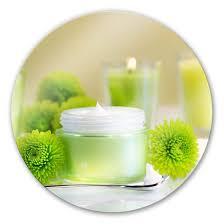 glasbild candle lemon rund
