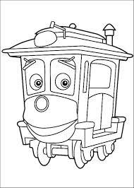 Coloriage à Dessiner Train Chuggington En Ligne