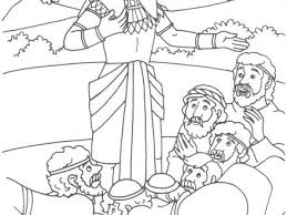 Joseph And His Brothers Coloring Page Forgives