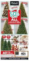 Michaels Christmas Trees Pre Lit michaels arts and crafts canada flyers