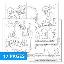 St Joseph Coloring Book