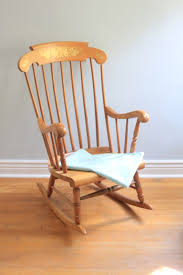 Grandpa's Rocking Chair Brightened Up For New Baby Nursery ...