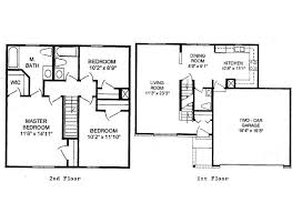 The Two Story Bedroom House Plans by Story House Floor Plans And Story Bedroom House Floor Plans House