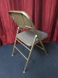 lot detail vintage samsonite metal folding chair