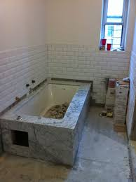 Tiling A Bathtub Deck by Facebook
