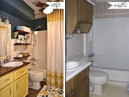 Small Bathroom Pictures Before And After by Small Bathroom Makeover Before And After Bathroom Design Ideas