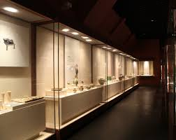 Wall Leaning Case Against Museum Display