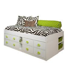 Twin Captains Bed With 6 Drawers by Berg Furniture Sierra Captain U0027s Bed Simply Baby Furniture