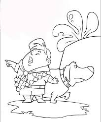 Up Movie Coloring Pages