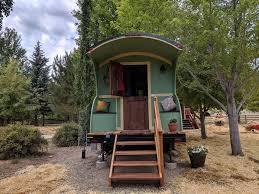 100 Gypsy Tiny House 2 Wagon On The Salmon River Salmon