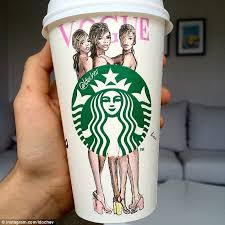 This Cup Features Cara Delevingne With Suki Waterhouse And Georgia May Jagger On The Cover Of