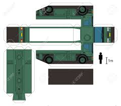 100 Paper Truck Model Of A Military Tank Royalty Free Cliparts Vectors