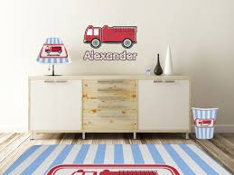 100 Fire Truck Wall Decals 32 Truck Decal Vinyl Decal 12 00 This