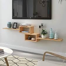 lrzs massivholz set top box rack wohnzimmer tv wanddeko