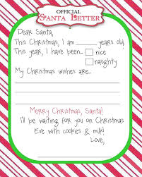 The 25 best Letter to santa template ideas on Pinterest