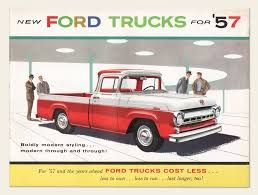 1957 Ford Trucks Brochure – OldCuts Cdon Skelly Classic Trucks The 195758 Ford Ranchero 57 Truck Light Wiring Enthusiast Diagrams 1969 F250 Pickup 360 V8 Youtube 0914 F150 Paramount 570180 Front Bumper Ebay Floppy Photos 1957 F350 Hot Rod Network 2018 Trucks Link To Telogis Via Sync Connect Ford F100 Google Search Cars Pinterest Features 5760 Truck Pics Page 12 Hamb F100 Tags Legend Lime Stepside Styleside
