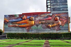 David Alfaro Siqueiros Murales Importantes by La Espina Roja