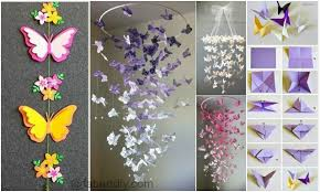 Butterfly Chandelier Mobile DIY Tutorials