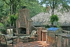 Outdoor Brick Fireplace Designs s Best Image Voixmag