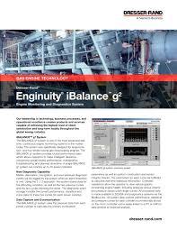 Siemens Dresser Rand News by Enginuity Ibalance Brochure Dresser Rand Pdf Catalogue