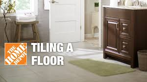 tile floor installation how to prepare and lay tile