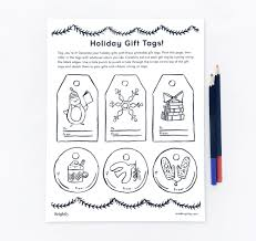 Gift Tag Coloring Page Share HolidayReading Brightly 1500px Gifttag Coloringpage Cover Bg